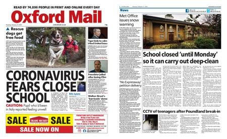 Oxford Mail – February 27, 2020