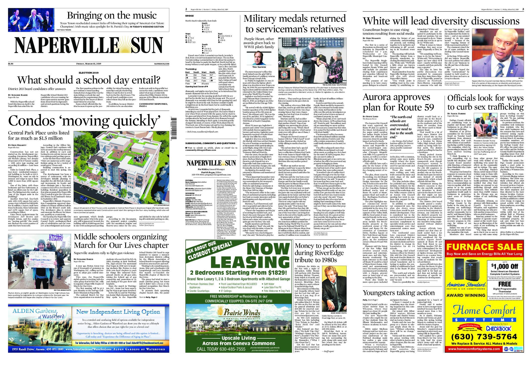 Naperville Sun – March 15, 2019