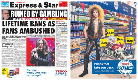 Express and Star Sandwell Edition – January 31, 2019