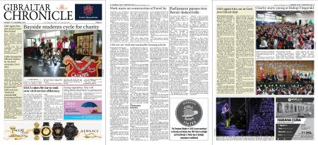 Gibraltar Chronicle – 18 December 2018