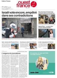 Ouest-France Édition France – 29 février 2020