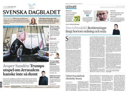 Svenska Dagbladet – 07 december 2017