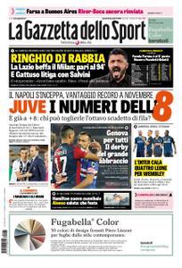 La Gazzetta dello Sport Roma – 26 novembre 2018