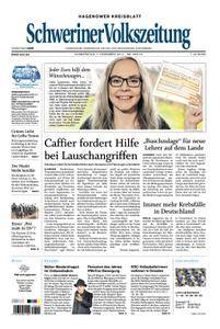Schweriner Volkszeitung Hagenower Kreisblatt - 07. Dezember 2017