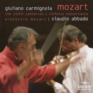 Giuliano Carmignola, Claudio Abbado - Mozart: Violin Concertos, Sinfonia Concertante (2008)