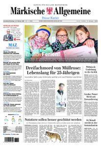 Märkische Allgemeine Dosse Kurier - 03. Februar 2018