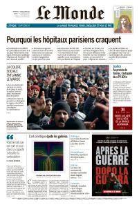 Le Monde du Dimanche 18 et Lundi 19 Mars 2018