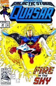 Captain America v1 400c Quasar 34