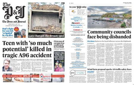 The Press and Journal Moray – March 02, 2020