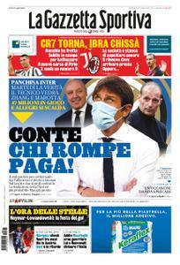 La Gazzetta dello Sport Roma – 23 agosto 2020