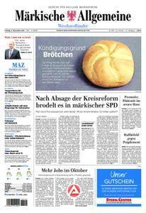 Märkische Allgemeine Westhavelländer - 03. November 2017
