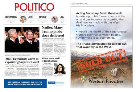 Politico – March 19, 2019