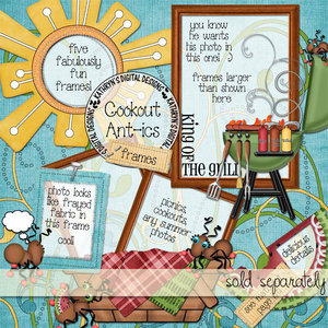 Scrap Kit: Cookout Ant-ics