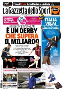 La Gazzetta dello Sport – 16 ottobre 2018
