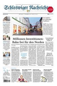 Schleswiger Nachrichten - 07. November 2018