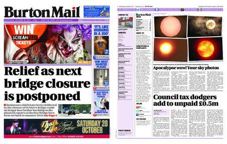 Burton Mail – October 18, 2017