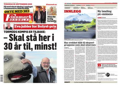 Finnmark Dagblad – 19. september 2019