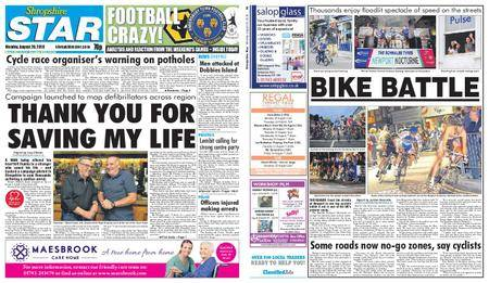 Shropshire Star Shrewsbury Edition – August 20, 2018