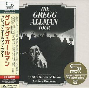 Gregg Allman - The Gregg Allman Tour (1974) {2008 SHM-CD Japan Mini LP Edition}