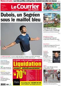 Le Courrier de l'Ouest Nord Anjou – 22 mai 2019