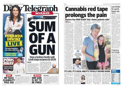 The Daily Telegraph (Sydney) – December 11, 2017