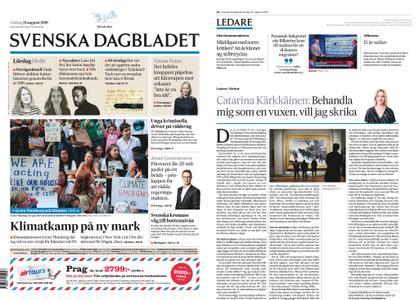 Svenska Dagbladet – 31 augusti 2019