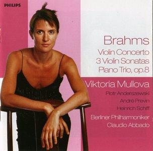 Brahms · Violin Concerto ·  3 Sonatas · Piano Trio, op.8