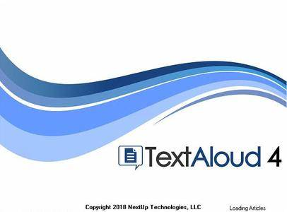 Nextup TextAloud 4.0.27 Portable