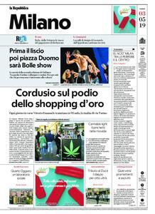 la Repubblica Milano – 03 maggio 2019
