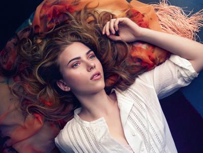Scarlett Johansson by Mario Sorrenti for Mango Summer 2010 Campaign