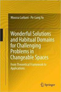 Wonderful Solutions and Habitual Domains for Challenging Problems in Changeable Spaces  (repost)