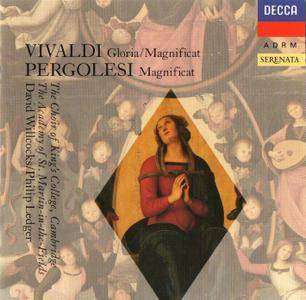 David Willcocks, Philip Ledger, Soloists - Antonio Vivaldi: Gloria, Magnificat; Giovanni Battista Pergolesi: Magnificat (1990)