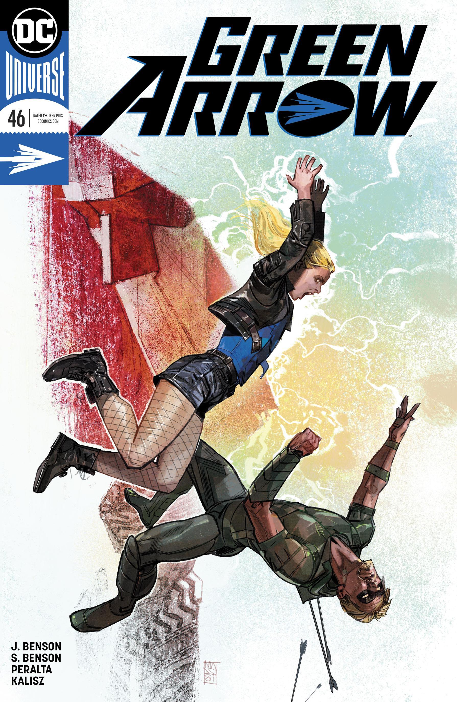 Green Arrow 046 2019 2 covers Digital Zone