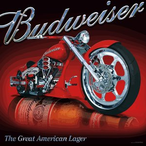 Budweiser Motorcycle (vector)