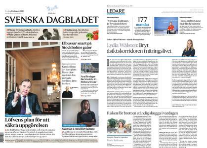 Svenska Dagbladet – 08 februari 2019