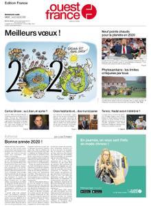 Ouest-France Édition France – 02 janvier 2020