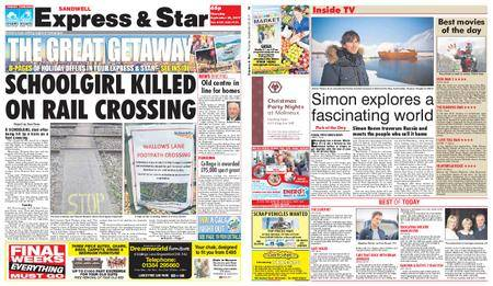 Express and Star Sandwell Edition – September 28, 2017
