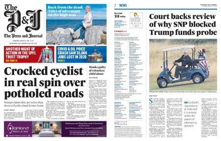 The Press and Journal Moray – August 12, 2021