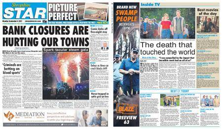 Shropshire Star Shrewsbury Edition – September 04, 2017