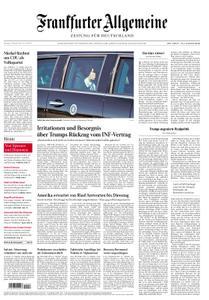 Frankfurter Allgemeine Zeitung F.A.Z. - 22. Oktober 2018