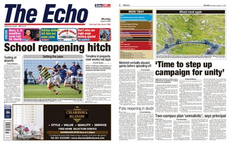 Evening Echo – August 03, 2020