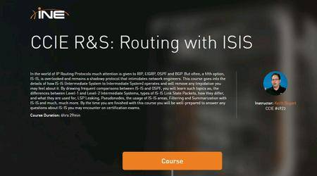 INE - CCIE R-S Routing with IS-IS [repost]