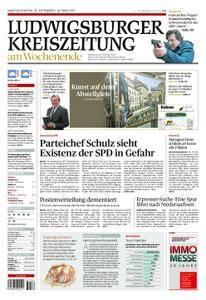 Ludwigsburger Kreiszeitung - 30. September 2017