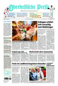 Oberhessische Presse Marburg/Ostkreis - 25. Juni 2018