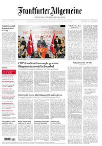 Frankfurter Allgemeine Zeitung F.A.Z. - 24. Juni 2019