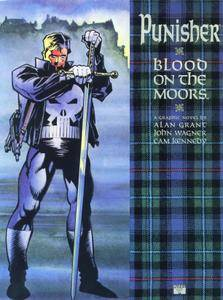 Marvel Graphic Novel 70 - The Punisher - Blood on the Moors 1991