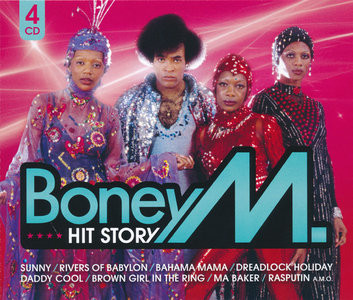 Boney M. - Hit Story (2010) [4CD Box Set] Re-up