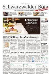 Schwarzwälder Bote Hechingen - 16. Dezember 2017