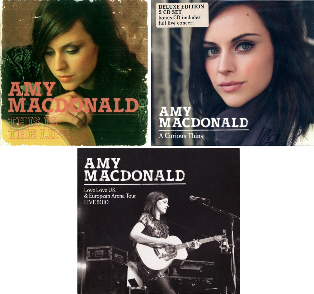 Amy MacDonald - Albums Collection 2008-2011 (7CD) [Re-Up]