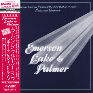 Emerson Lake & Palmer - Welcome Back, My Friends ... (1974) [2014, Victor Entertainment Japan, VICP-78025-6]